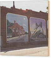 Thomasville Painted Wall Wood Print