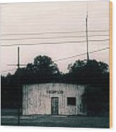 Thompson- La Highway 80 Wood Print