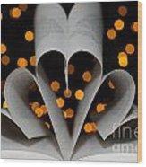 Three Hearts Wood Print