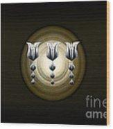 Three Tulips Wood Print by Vidka Art