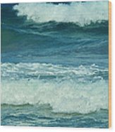 Three Waves Wood Print