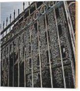 Through The Gates Wood Print