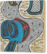 Thunder Goose Wood Print