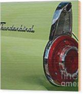 Thunderbird 1 Wood Print