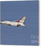 Thunderbird 6 In Burner Wood Print