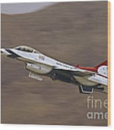 Thunderbird Burner Climb Wood Print