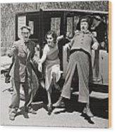 Thundering Taxi, 1933 Wood Print