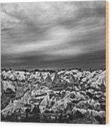 Thunderous Morning Over Cappadocia Wood Print