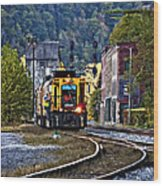 Thurmond Wv Train Wood Print