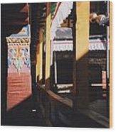 Tibet Potala Palace 7 Wood Print
