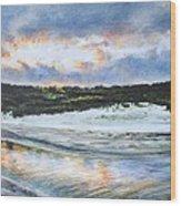 Tidewater Wood Print