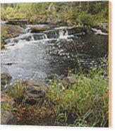 Tidga Creek Falls 2 Wood Print