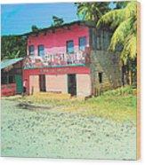 Tienda Las Brisas Wood Print