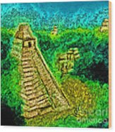 Tikal By Jrr Wood Print