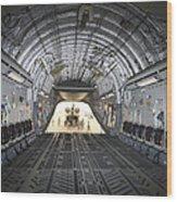 Tikrit, Iraq - A Ch-47 Chinook Wood Print