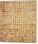 Tiled Wall Wood Print