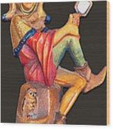 Till Eulenspiegel - The Merry Prankster Wood Print