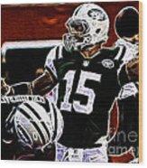 Tim Tebow  -  Ny Jets Quarterback Wood Print