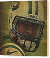 Tim Tebow - New York Jets - Timothy Richard Tebow Wood Print by Lee Dos Santos