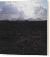 Timanfaya Ground Wood Print
