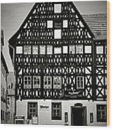 Timber-frame House Weimar Wood Print by Christine Till