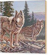 Timber Ridge Wood Print