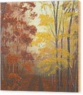 Timber Road Wood Print