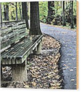 Time For A Rest Wood Print by JC Findley