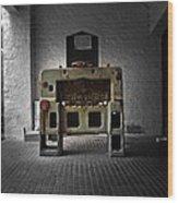 Time Machine Wood Print