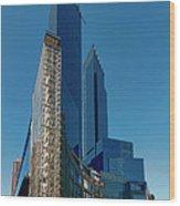 Time Warner Center Wood Print
