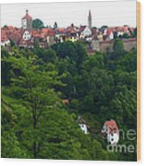 Timeless Rothenburg Wood Print