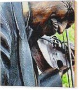 Timeless Violin Wood Print