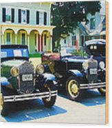 Times Gone By Wood Print