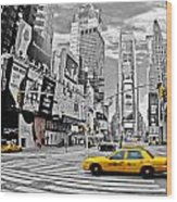 Times Square - New York Wood Print