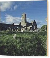Timoleague Abbey, Co Cork, Ireland 13th Wood Print