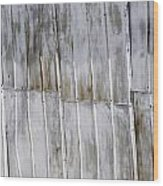 Tin Sheets Wood Print