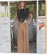 Tina Loy 607 Wood Print
