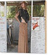 Tina Loy 637 Wood Print