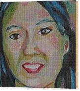 Tina Wood Print