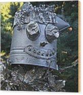 Tinman Scarecrow Wood Print