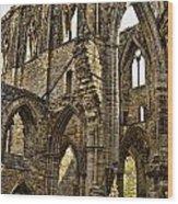 Tintern Abbey 10 Wood Print