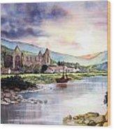 Tintern Abbey Wood Print