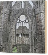 Tintern Abbey-wales Wood Print