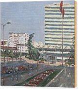 Tirana Wood Print