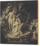 Titania's Awakening Wood Print