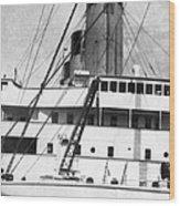 Titanic: The Bridge, 1912 Wood Print