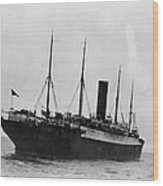 Titanic: The Carpathia, C1912 Wood Print