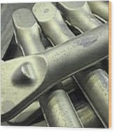 Titanium Forgings Wood Print