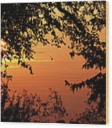 Tn Sunrise Wood Print