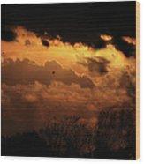 Tn Sunset Nov-11 Wood Print
